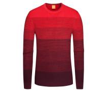 Pullover, O-Neck, Akatrusco in Rot für Herren