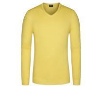 Pullover, Regular Fit in Gelb für Herren