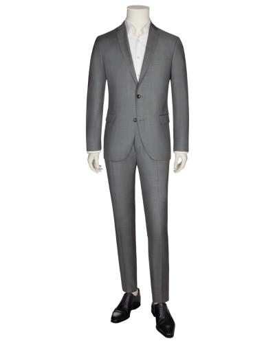 Sportlicher Businessanzug mit Karo-Muster in Grau für Herren