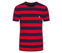 T-Shirt mit Brusttasche, Custom Slim Fit in Rot