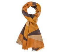 Schal aus 100% Wolle in Gelb