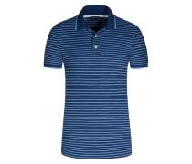 Gestreiftes Poloshirt in Blau für Herren