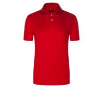 Poloshirt, Meisterwerk in Rot für Herren