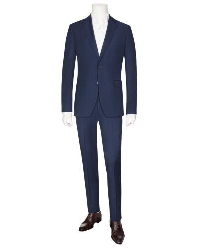 Modischer Glencheck-Anzug in Blau für Herren