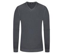 Pullover, V-Neck in Grau für Herren