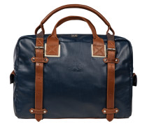 Tasche, Weekender in Blau für Herren