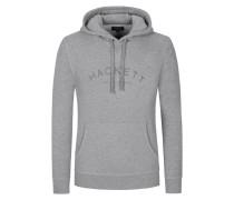 Sweatshirt mit Logo-Schriftzug in Grau für Herren