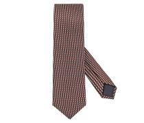 Krawatte in D-braun für Herren