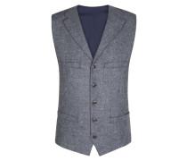Modische Tweed-Weste in Grau für Herren