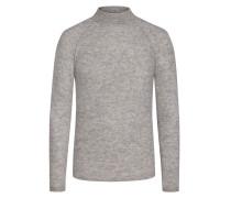 Pullover in Merino-Wolle-Kaschmir-Mix in Hellgrau