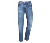 Jeans, Delaware, Slim Fit in Blau für Herren