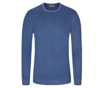 Pullover, 100 % Kaschmir in Blau