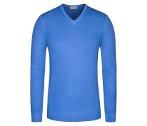 Pullover, Summer-Cashmere in Blau