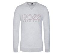Sweatshirt, Kaschmir-Mix in Grau für Herren