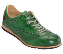 Sneaker, Cuero in Gruen für Herren