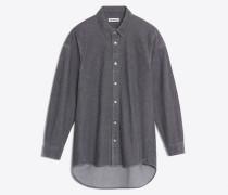 Gemäßigt körperbetont geschnittenes Hemd