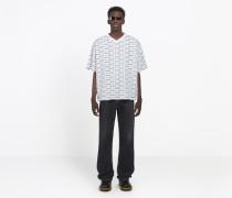"T-Shirt mit ""T-Shirt""-Print"