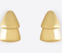 Große dreieckige Ohrringe