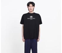 T-Shirt in normaler Passform mit BB Mode Print