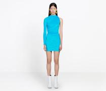 Mini-Kleid mit gezogenem Design