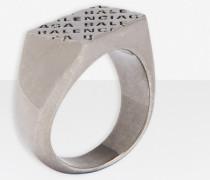 Precious Logo Rechteckiger Ring