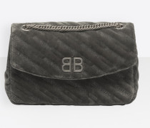 BB Chain M Quilted Velvet