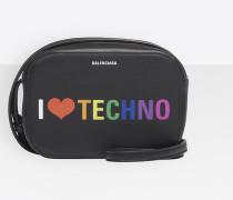 I Love Techno Everyday Camera Bag XS
