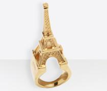 Ring in Eiffelturm-Form