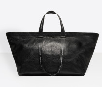 Carry Logo Handles Shopper L