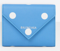 Papier Brieftasche In Kompaktem Format