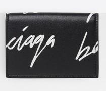 Cash Bill Clip Square Brieftasche