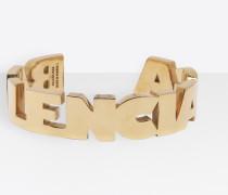 Armband mit Schriftzug