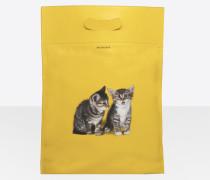 Plastic Bag Shopper S Kätzchen