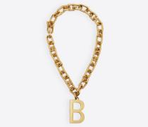 B Chain Halskette