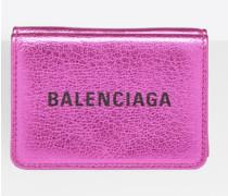 Everyday Mini-Portemonnaie mit Metallic-Effekt