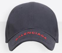 Kappe mit Balenciaga Logo