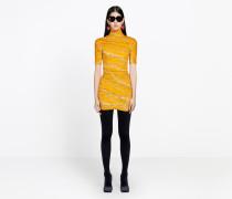 Mini-Kleid mit Rollkragen
