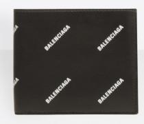 All Over quadratische Brieftasche