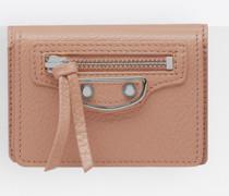 Classic Metallic Edge Mini Wallet