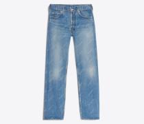 Standard-Jeans mit Logo