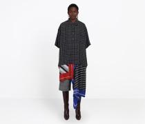 Foulard-Blusenkleid