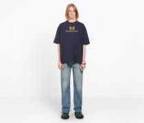 """T-Shirt mit """"BB Balenciaga""""-Print"""