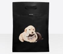 Plastic Bag Shopper M Welpen und Kätzchen