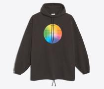Oversized-Kapuzensweatshirt