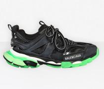 Track Sneaker mit strahlenden Farbakzenten