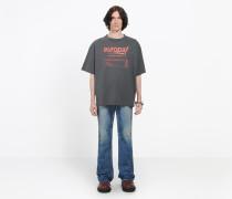 "T-Shirt mit ""Europa!""-Print"