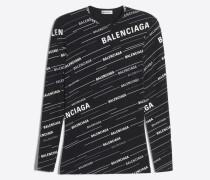 Körperbetontes T-Shirt mit Spring 19 Logo-Print