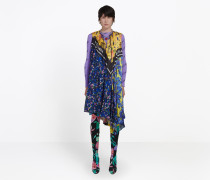 Scarf-Kleid