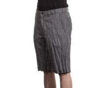 Herren Shorts Crashed Look grau
