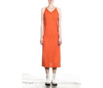 Damen Kleid orange